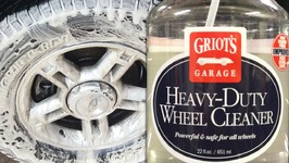 GRIOT'S GARAGE HEAVY DUTY WHEEL CLEANER Review, How To Use, Full Results - Auto Detailing Video