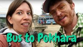 Bus Ride in Nepal from Kathmandu to Pokhara