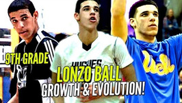 Lonzo Ball's Evolution Through The Years Skinny 9th Grader To Potential 1 Pick In Nba Draft