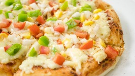 Tawa Pizza  Start To Finish Veg Cheese Pizza In Pan Without Oven  No Oven Pizza