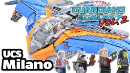 3000 Piece LEGO UCS Milano MOC Review- from Guardians of the Galaxy Vol- 2