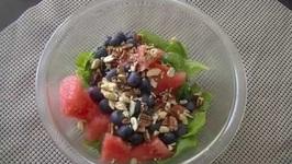 Watermelon Salad Hindi Recipe  Summer Salad