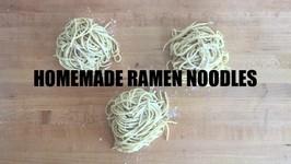 How To Make Homemade Ramen Noodles