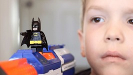 Nerf War  LEGO Batman Begins