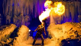The Human Dragon - Fire Breathing Human in 4K