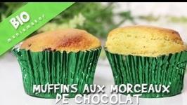 Muffins Bio Aux Morceaux De Chocolat