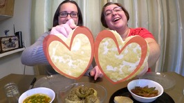 Stuffed Artichoke Hearts, Lots Of Vegetables And Tofu Hearts  Gay Family Mukbang - Eating Show