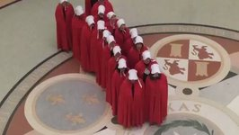 Demonstrators, Some in Handmaid's Tale-Style Garb, Protest Texas Abortion Bill