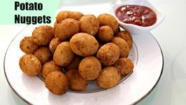 Potato Nuggets Easy Snack Recipe  Party Appetizer Starter