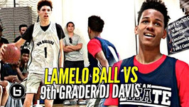 Lamelo Ball Gets Challenged By 9th Grader Dj Davis Ankle Bully Ceo Vs Bucket Team Ceo Mini Battle
