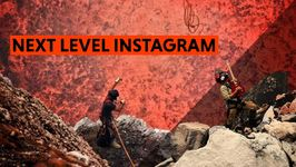 Climb over lava to get a great shot? Sure, why not
