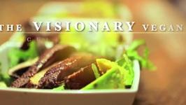 The Visionary Vegan- Mushroom Avocado Salad