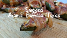 Pit Barrel Cooker Jalapenos Poppers  How To Smoke Atomic Buffalo Turds  PBC Grilled ABTs