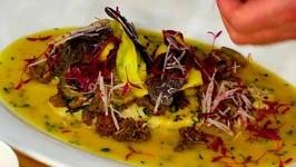 Chef David Jansen And Chef Francesco Martorella - Poached Turbot Fillet