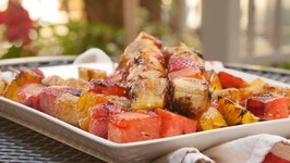 Grilled Fruit Kabobs with Balsamic Drizzle