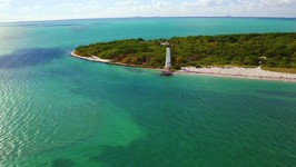Florida Travel -  Fly Above Bill Baggs Cape Florida State Park