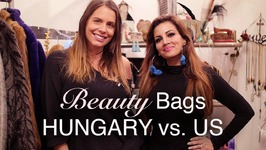 What's In Your Beauty Bag Hungary vs US - Beauty Tips, Hacks, How Tos
