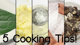 5 Cooking Tips And Tricks