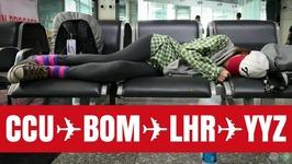 India to Canada flying with British Airways travel vlog - Kolkata - Mumbai - London - Toronto