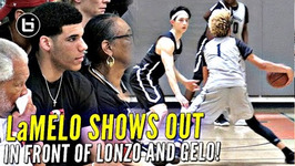 Chino Hills I mean Big Ballers Drop Nearly 100 Points In Win w Lonzo And LiAngelo Watching