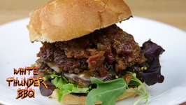 Bourbon Bacon Jam Smash Burger!!