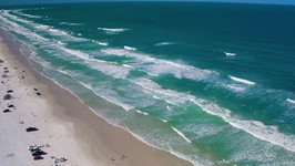 Florida Travel -  Fly Above New Smyrna Beach