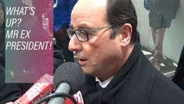 What Hollande's up to after clearing out of office
