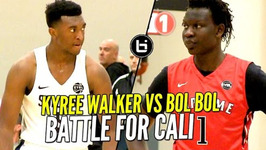 Bol Bol Vs Kyree Walker Battle For Cali Bragging Rights At Nike Eybl