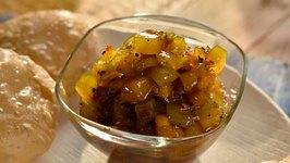 Quick Mango Chutney  Mango Season Special