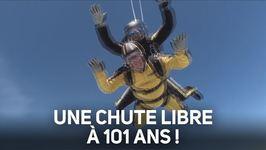 Il saute en parachute... à 101 ans !