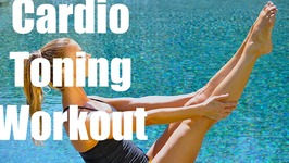 Cardio Tone Workout - No equipment 38 min