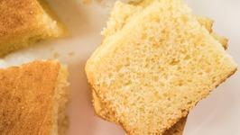 Sponge Cake  Eggless Pressure Cooker Basic Sponge Cake  Eggless Baking Without Oven