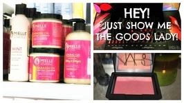 Hey Lady Just Show Me The Goods - Sally And Ulta Haul - Mielle Organics, Nars And Lorac - Sorta