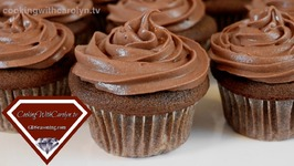 Perfectly Moist Chocolate Sour Cream Cupcakes With Chocolate Ganache Cream Cheese Frosting