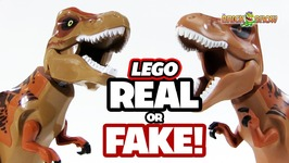 Real or Fake - LEGO T-Rex Dinosaurs