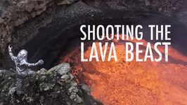 Would you dangle over lava to get the perfect shot?