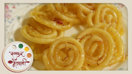 Jalebi with Sugar Syrup  Recipe by Archana  Authentic Indian Sweet  Dessert in Marathi