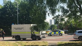Scene Deemed Safe After Bomb Disposal Unit Attends Castlefield Campus in Hulme