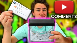 Reading Mean Comments With A Usb Shredder