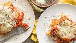 Veggie Lasagna - Slow Cooker Meals