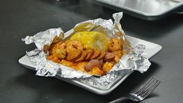 Foil Packet Cajun Shrimp Boil