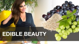 Edible Beauty - Anti-Aging Grape Face Mask From Chile - Diy Skincare