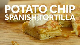 How to Make a Spanish Tortilla With Salt and Vinegar Potato Chips