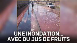 Une ville russe est inondée... de jus de fruits !