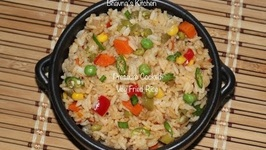 Pressure Cooked Veg Fried Rice  Quickest Instantly