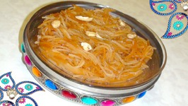 Mithi Sev (Sweet Vermicelli) For Holi Festival  Gujarati Surti Style