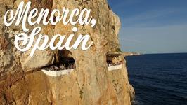The Coolest Bar Ever - Menorca Cave Bar - Travel Vlog