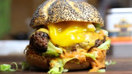 Onsen Egg Burger