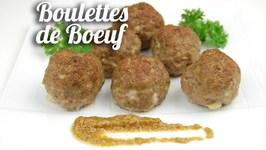 Boulettes De Boeuf Au Four