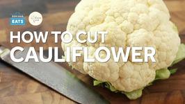 Knife Skills How to Cut Cauliflower